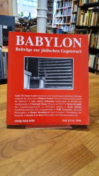 Brumlik, Babylon – Beiträge zur jüdischen Gegenwart – Heft 13-14 / 1994,