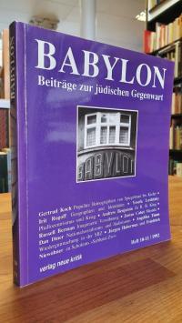 Brumlik, Babylon – Beiträge zur jüdischen Gegenwart – Heft 10 – 11 / 1992,