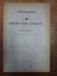 Lechner, Teil 1. Zur Geschichte des ehemaligen Franciscanerklosters in Kremsier,