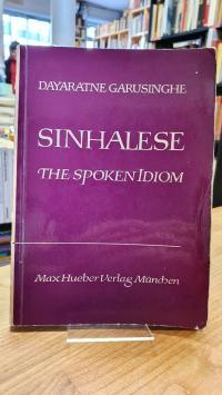 Singhalesisch / Garusinghe, Sinhalese The Spoken Idiom,
