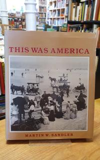 Sandler, This Was America (signiert),