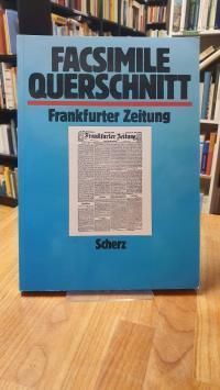 Faksimile Querschnitt Frankfurter Zeitung