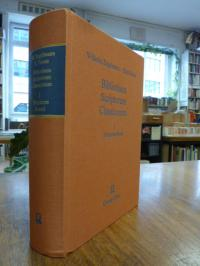 Engelmann, Bibliotheca Scriptorum Classicorum – Band I: Scriptores Graeci,