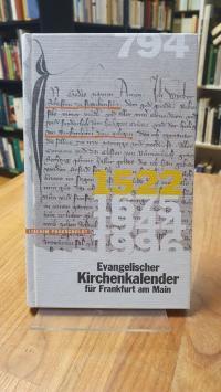 Proescholdt, Evangelischer Kirchenkalender für Frankfurt am Main,