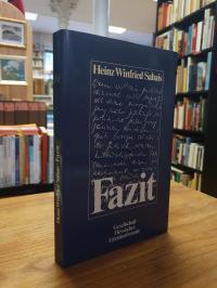 Sabais, Fazit – Gedichte und Prosa – Ausgewählt von Karl Krolow und Ekkehard Bor