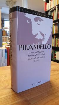 Pirandello, Gesammelte Werke – Band 7: Sonne und Schatten – Sizilianische Novell