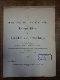 Conradt, Die metrische und rhythmische Komposition der Komödien des Aristophanes