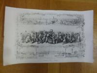 Dielmann, Hektographie: Die Weinlese – Skizze von J. Dielmann, umra