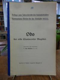 Kolmer, Odo, der erste Cluniacenser Magister,