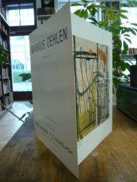 Oehlen, Bilder – 1980 – 1988, Faltkarte zur Eröffnung der Ausstellung,