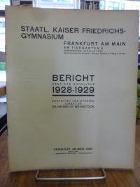 Kaiser-Friedrich Gymnasium Frankfurt (heute: Heinrich-von-Gagern-Gymnasium) / We
