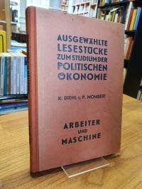 Diehl, Ausgewählte Lesestücke zum Studium der politischen Ökonomie – Band 20 – A