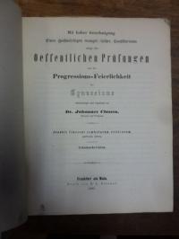 Classen, Teil 1. Joannis Classeni symbolarum criticarum particula altera, Teil 2
