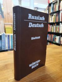 Russisch / Hans Holm Bielfeldt, Wörterbuch – Russisch-Deutsch – Mit etwa 24000 S