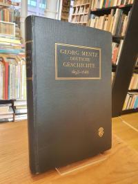 Mentz, Deutsche Geschichte – im Zeitalter der Reformation, der Gegenreformation