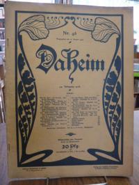 von Bremen, Die Wikingerschiffe von Kristiana, 2seitiger Artikel in: Daheim – Ei