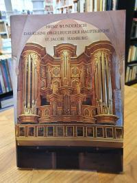 Wunderlich, Das kleine Orgelbuch der Hauptkirche St. Jacobi, Hamburg,