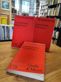 Lewandowski, Linguistisches Wörterbuch – [in drei Bänden] (= alles),