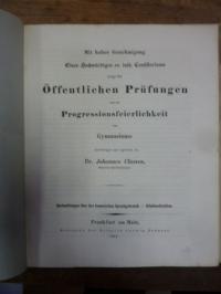 Classen, Teil 1. Beobachtungen über den homerischen Sprachgebrauch. (Erster Teil