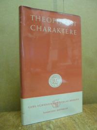 Theophrastus, Charakterbilder,