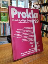 Vereinigung zur Kritik der politischen Ökonomie e.V. (Hrsg.), Prokla – Zeitschri