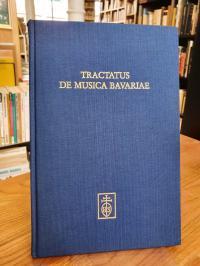 Weiss, Tractatus de musica Bavariae – Festschrift Alexander L. Suder zum 65. Geb