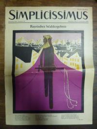 Simplicissimus Jahrgang 1954 – Nummer 10 – München, den 11. Dezember 1954:  Bayr