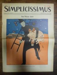 Simplicissimus Jahrgang 1955 – Nummer 1 – München, den 1. Januar 1955: Ins Neue