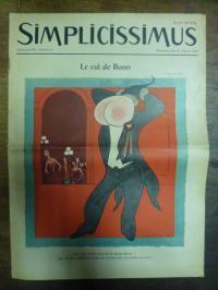 Simplicissimus Jahrgang 1955 – Nummer 4 – München, den 22. Januar 1955: Le cul d