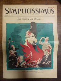 Simplicissimus Jahrgang 1955 – Nummer 8 – München, den 19. Februar 1955: Der Jün