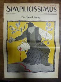 Simplicissimus Jahrgang 1954 – Nummer 6 – München, den 13. November 1954: Die Sa