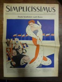 Simplicissimus Jahrgang 1955 – Nummer 9 – München, den 26. Februar 1955: Dank-Wa