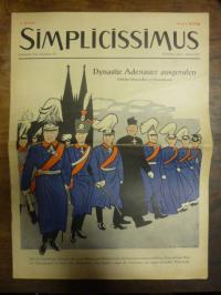 Simplicissimus Jahrgang 1955 – Nummer 14 – München, den 1. April 1955: Dynastie