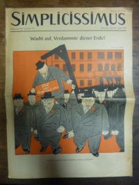 Simplicissimus Jahrgang 1955 – Nummer 18 – München, den 30. April 1955: Wacht au