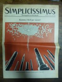 Simplicissimus Jahrgang 1957 – Nummer 23 – München, den 8. Juni 1957: Komm, Heil