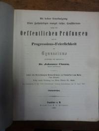 Classen, Teil 1: Über die Beziehungen Melanchthons zu Frankfurt am Main (Nebst e