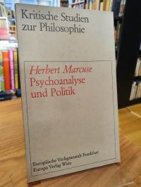 Marcuse, Psychoanalyse und Politik,