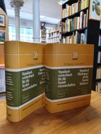 Koschnick, Standardwörterbuch für die Sozialwissenschaften = Standard Dictionary