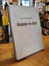 Wackernagel, Geschichte des Elsaß,