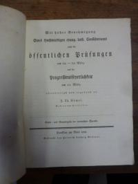 Vömel, Teil 1: Casus und Genusregeln der lateinischen Sprache, Teil 2: Schulnach