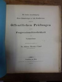 Vömel, Nachtrag zu der Abhandlung über die Aechtheit der Urkunden bei Demosthene