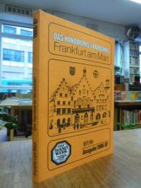 Das Handwerks-Verzeichnis Frankfurt am Main – Ausgabe 1986/87,