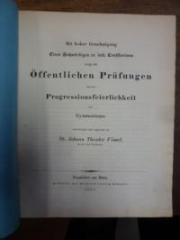 Voemel, Teil 1: Die Aechtheit der Urkunden in des Demosthenes Rede vom Kranze ve