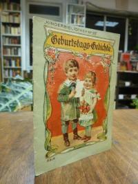 Kinderbibliothek, Geburtstags-Gedichte,