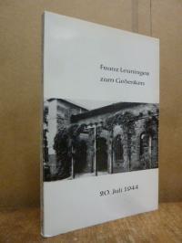 Leuninger, Franz Leuninger zum Gedenken – 20. Juli 1944,