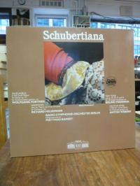 Schubertiana, Schallplatte,