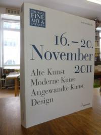Cologne Fine Art & Antiques, Alte Kunst, Moderne Kunst, Angewandte Kunst, Design
