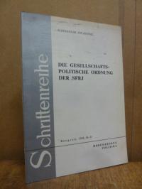 Jovanovic, Die Gesellschafts-politische Ordnung der SFJR,
