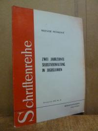 Radovanovic, Zwei Jahrzehnte Selbstverwaltung in Jugoslawien,