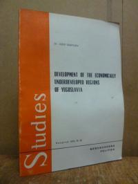 Pesakovic, Development of the Economically Underdeveloped Regions of Jugoslavia,